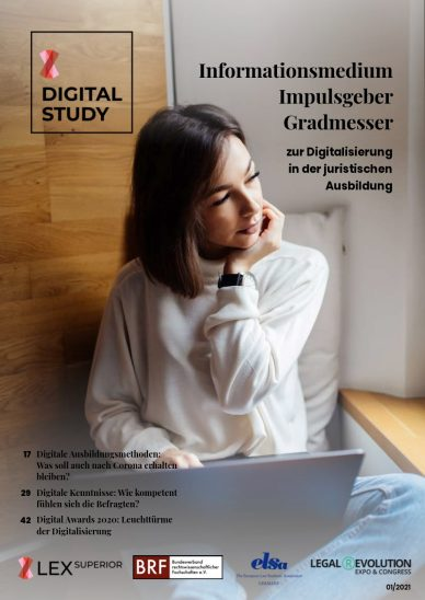 Digital Study eMagazin 2021_01 Cover